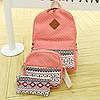 Школьный рюкзак с орнаментом 3 в 1, фото 7