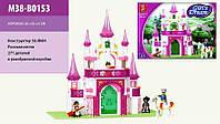 Конструктор Розовая мечта Замок принцессы М38-В0153 SLUBAN