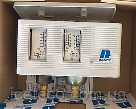 Реле давления Ranco HP/LP, 017-Н4705 двублочное, ручной сброс HP (LP signal)