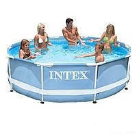 Каркасный бассейн Intex 28700. Сборный Prism Frame 305 x 76 см