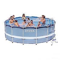 Каркасный бассейн Intex 28719. Сборный Prism Frame 366 x 99 см