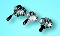 Селекторный клапан с ручным управлением Hyva