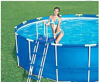 Каркасный бассейн BestWay 56045 (56431) сборный Steel Pro Frame 244 х 61 см