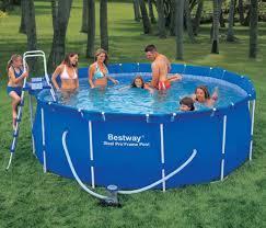 Каркасный бассейн Bestway Steel Pro Frame 366х122 см Басейн круглый
