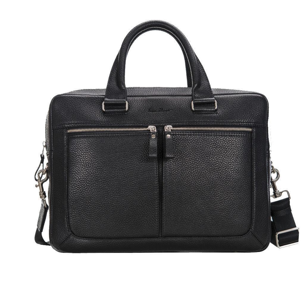 Портфель-сумка Issa Hara B23 з натуральної фактурної