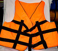 Спасательный жилет водный 90-110 кг оранжевый