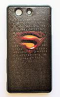 Чехол на Sony Xperia Z3 Compact Силикон My Color Супермен