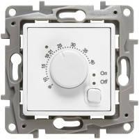 Термостат с датчиком для теплого пола, белый - Legrand Etika