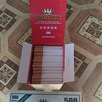 """Сигаретные гильзы """"корона"""""""