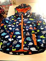 Шикарная куртка ветровка Динозавр унисекс