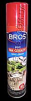 Bros (Брос) Аэрозоль (Дихлофос) от насекомых 400мл терраса, огород, дом