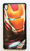 Чехол на Sony Xperia Z3+/Xperia Z3+ Dual My Color Силикон Железный человек