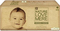 Подгузники NatureLoveMere, Original, Newborn (2-4кг), 54шт