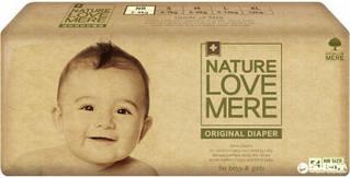 Підгузники NatureLoveMere, Original, Newborn (2-4кг), 54шт