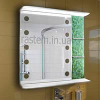 """Зеркальный навесной шкафчик с подсветкой для ванной комнаты м""""879"""""""