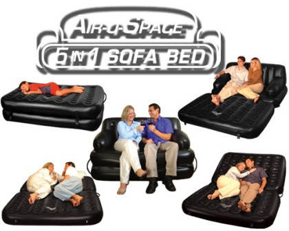 Надувной диван 5 IN 1 SOFA BED (СОФА БЭД), создайте уют за щитанные минуты, фото 2