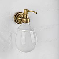 Дозатор для жидкого мыла керамика ( Versace ), бронза V 040k