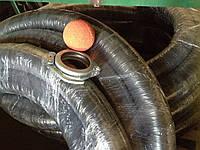 Бетоновод резиновый (шланг подачи бетона) металлический 100мм. 125мм. (4,5 и 5,5 дюйма), замки, уплотнения