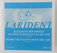 Блокнот для замешивания 5х5 см (100шт), Италия
