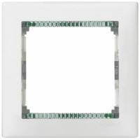Рамка на 1 пост, белый/кристалл - Legrand Valena