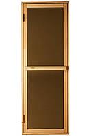 Дверь для сауны Tesli Bravo Sateen 1900 х 700