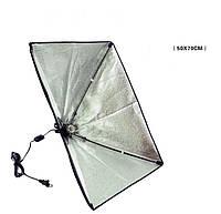 Софтбокс Fotobestway с патроном E27 50x70см