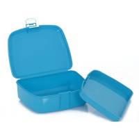 Пластиковый ланчбокс для завтрака herevin viva blue (161278-005)