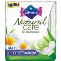 Гигиенические прокладки Libresse Natural CareMaxi Goodnigth 7 шт