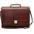 Кожаный мужской портфель Manufatto ПАВ-25 , фото 2