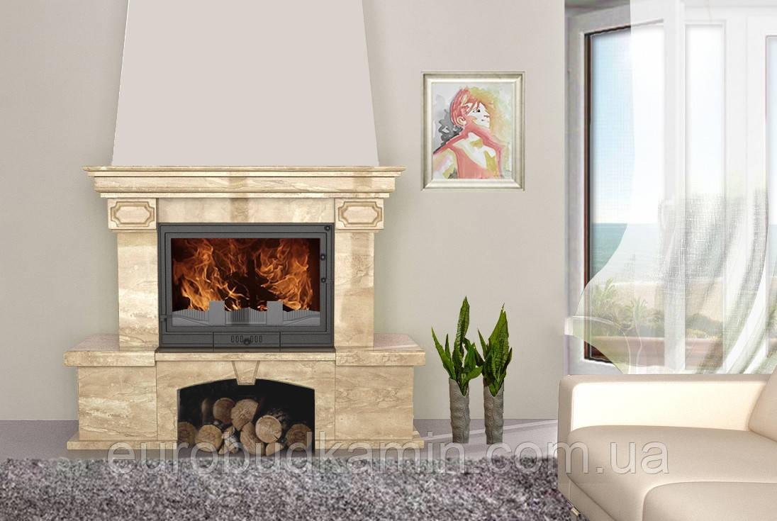 Портал для камина (облицовка) Барбара из натурального мрамора Diano Reale