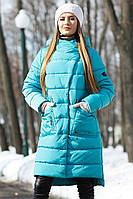 Молодежное  зимнее пальто без меха Рива  Нью Вери (Nui Very) в Украине по низким ценам