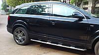 Audi Q7 2005-2015 гг. Боковые площадки OEM (2 шт., алюминий)