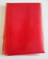 Евросетка (фатин) № 406 цвет - алый
