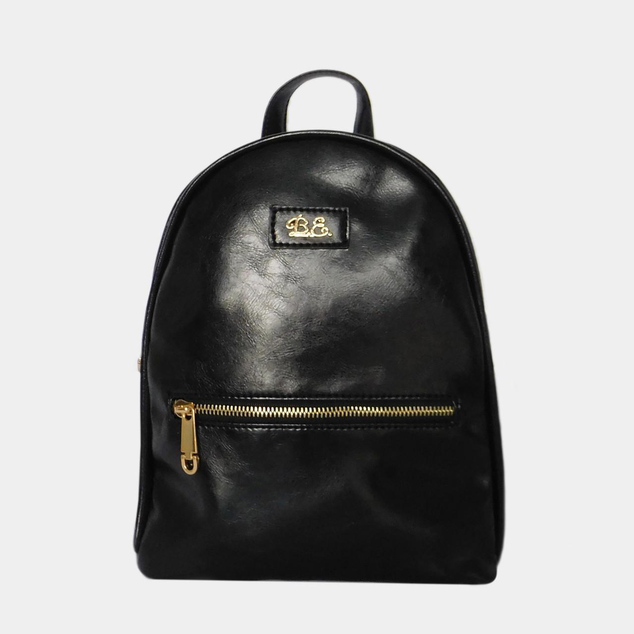 707cd197adf3 Рюкзак жіночий чорний зі штучної шкіри / Рюкзак женский черный из искусст.  кожи. Немає в наявності