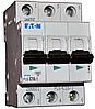 Автоматический выключатель PL6 3р 40А, С, Eaton