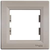 Рамка на 1 пост, бронза - Schneider Electric Asfora EPH5800169