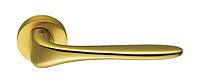Дверная ручка Colombo Design Madi матовое золото 50мм розетта