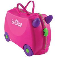 Trunki Детский дорожный чемоданчик Trixie pink 061