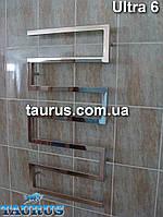 Дизайнерский полотенцесушитель - радиатор Ultra 6 из нержавеющей стали /1000х500