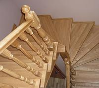 Ступени лестницы цельноламельные ясень