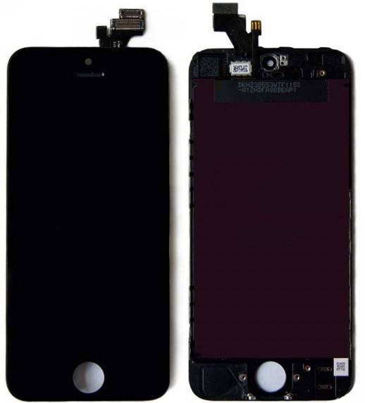 Модуль iPhone 5 black дисплей экран, сенсор тач скрин для телефона сма