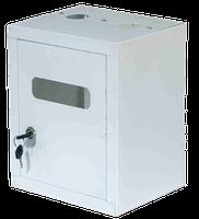 Ящик газовый белый железный
