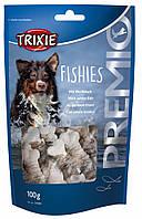 Лакомство Trixie Premio Fishies для собак с белой рыбой, 100 г