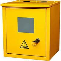 Ящик газовый желтый железный