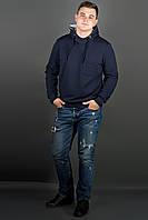 "Свитшот мужской ""Рунэ"" р. 48-56 темно-синий, фото 1"