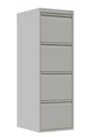 Шкаф металлический файловый ШМФ 4