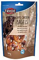 Лакомство Trixie Premio Lamb Chicken Bagels для собак с бараниной и курицей, 100 г, фото 1