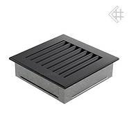 Вентиляционная решетка KRATKI FRESH 17Х17 СМ графитовая