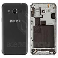 Корпус для мобильного телефона Samsung J320H/DS Galaxy J3 (2016), черный