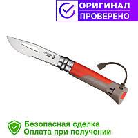 Нож Opinel (опинель) N°8 Outdoor Earth-Red (001714)